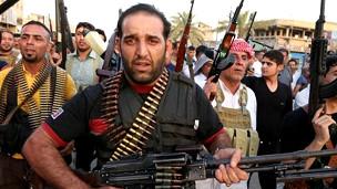 Milicianos chiitas