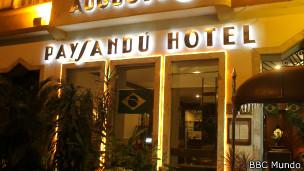 Frente del Hotel Paysandú