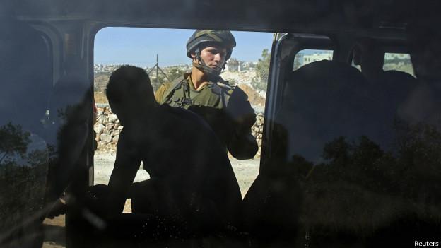 Búsqueda en Hebrón por soldados israelíes