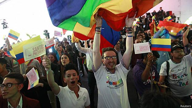 seguidores de Santos en Bogota