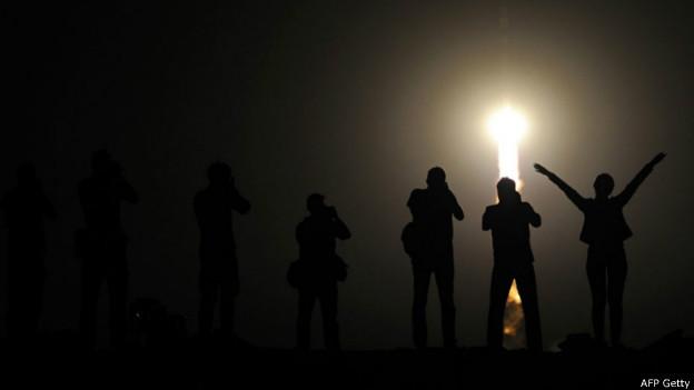 Lanzamiento espacial en Baikonur