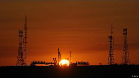 Lanzamiento en Baikonur