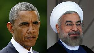 Obama y Rouhani