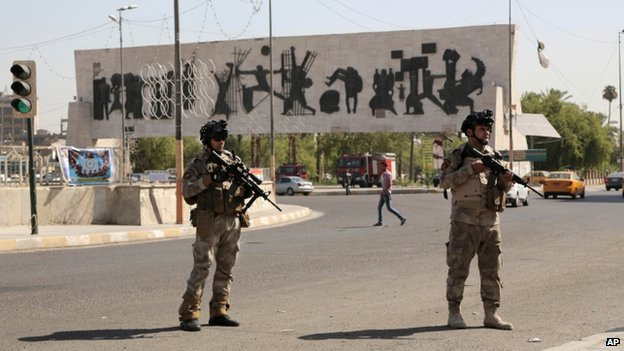 La seguridad se ha incrementado en Bagdad, ante la amenaza de ISIS.