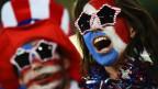 Torcedores americanos na Arena das Dunas, em Natal (Crédito: Getty)