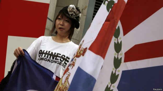 香港人认同中国人身份比例跌至新低点