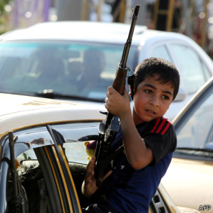 Niño iraquí chiita