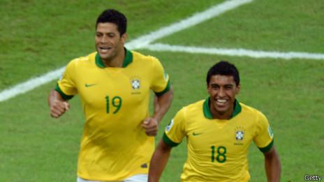 Hulk y Paulinho