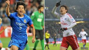 Kwak Tae-hwi y Son Heung-min