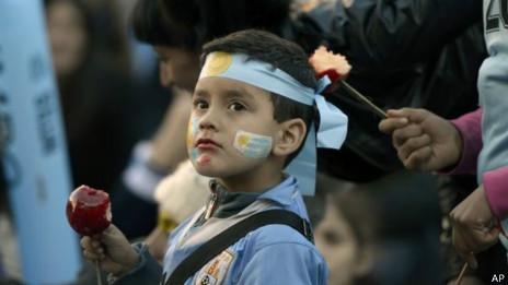 Aficionados uruguayos