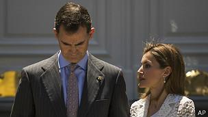 La nueva pareja real española