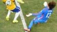 Guillermo Ochoa durante el partido contra Brasil. Foto Getty Images.
