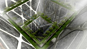 Proyecto Rascasuelos en Ciudad de México. Foto cortesía Bunker Arquitectura