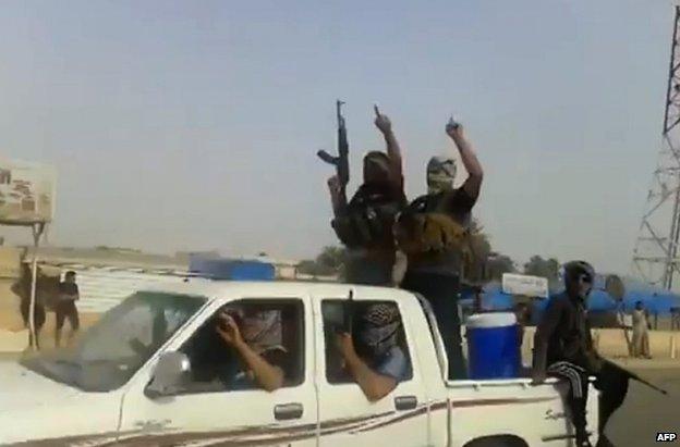 Militantes de ISIS