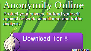 Imagen del navegador Tor