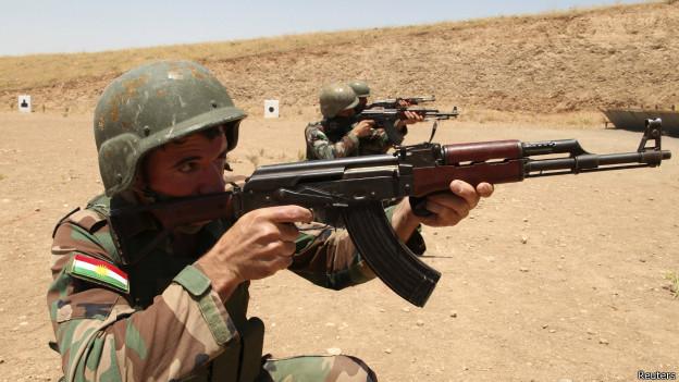 Soldado kurdo