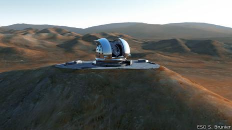 Telescopio Europeo Extremadamente Grande