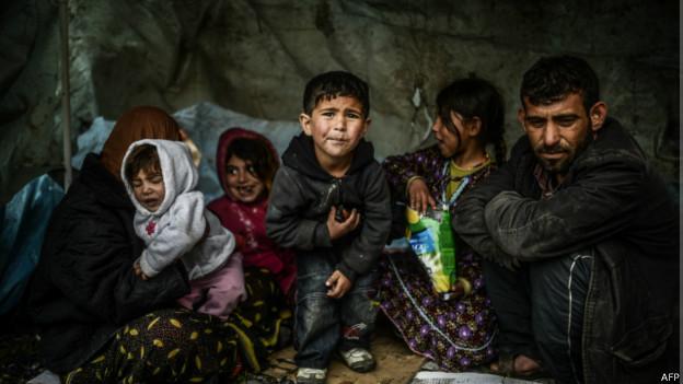 Refugiados sírios (AFP)