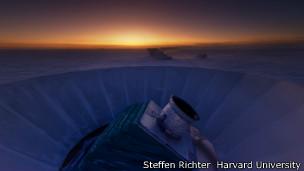 Telescopio de Bicep2