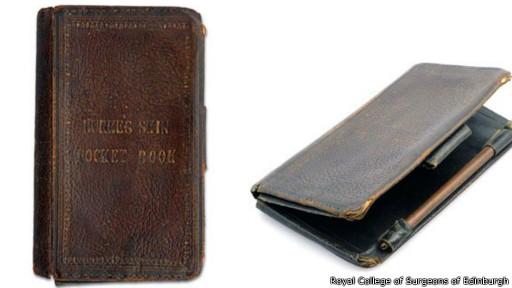 كتاب غلف بجلد المجرم البريطاني ويليام بورك