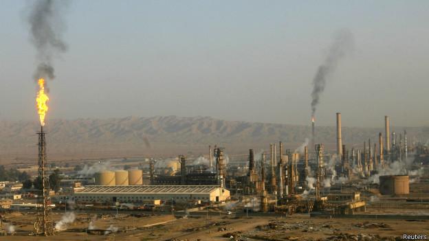 Нефтяной завод Байджи