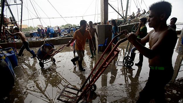 Trabajadores Tailandia