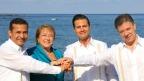 Presidentes miembros de la Alianza del Pacífico