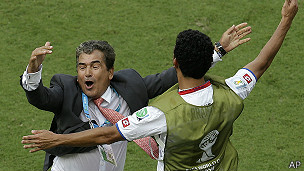 jorge luís pinto, entrenador de Costa Rica