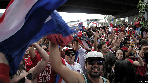 Celebración en San José de Costa Rica