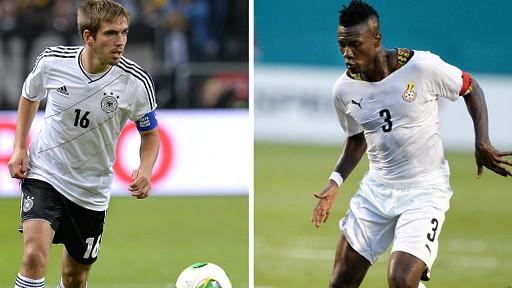 Đức gặp Ghana