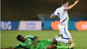Nigéria e Bósnia jogam em Cuiabá | Foto: Getty