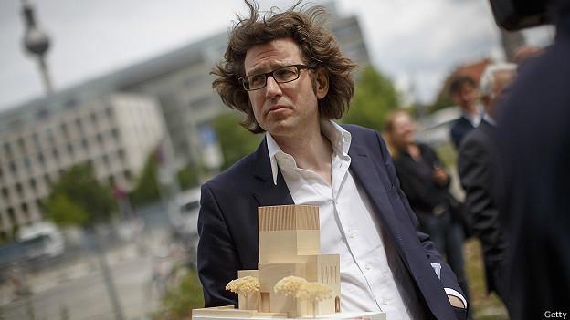 El arquitecto Wilfried Kuehn