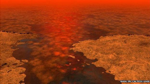 """El misterio de la """"isla mágica"""" en una luna de Saturno 140623103847_titan2_624x351_nasa_nocredit"""