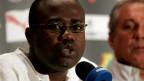 O presidente da Associação de Futebol de Gana, Kwesi Nyantakyi Foto BBC