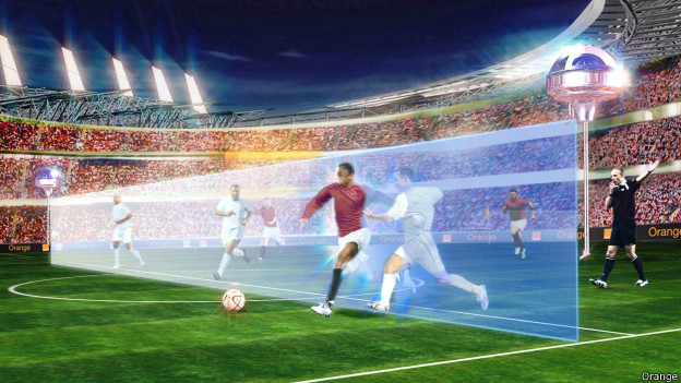 holograma fútbol
