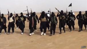 Бойцы ИГИЛ в Ираке