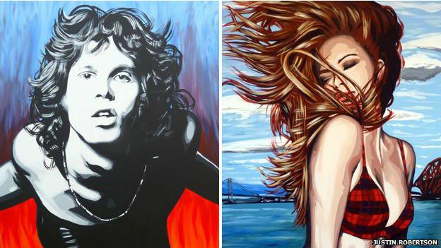 Jim Morrison y Bonnie Scotland