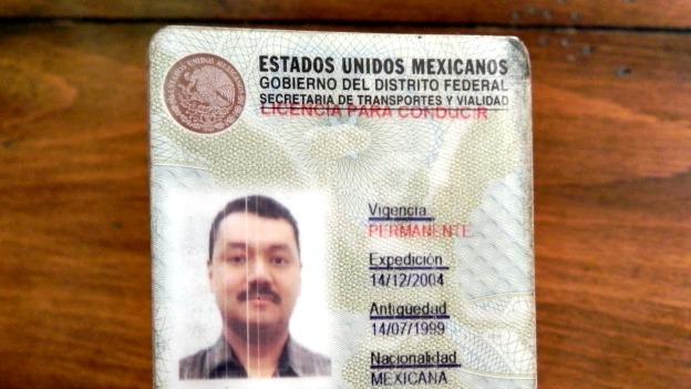 Carnet permanente de conducir en Ciudad de México. Foto: BBC