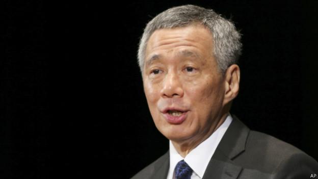 新加坡总理李显龙(22/05/2014)