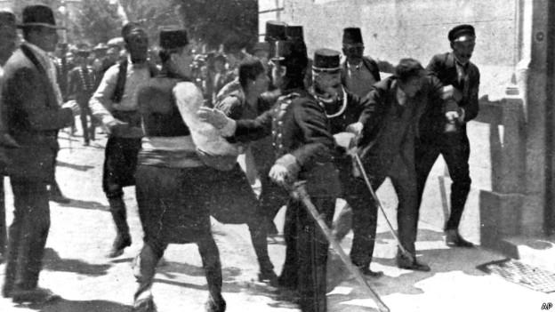 Полиция Сараева