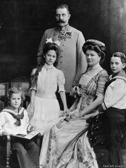 Эрцгерцог с семьей