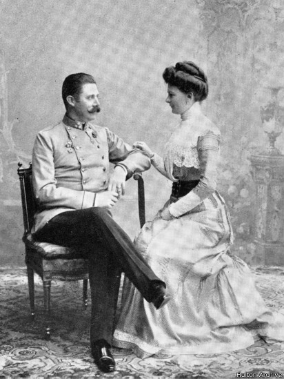 Эрцгерцог с женой