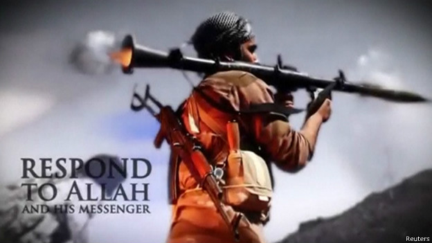 Кадр из видео ИГИЛ