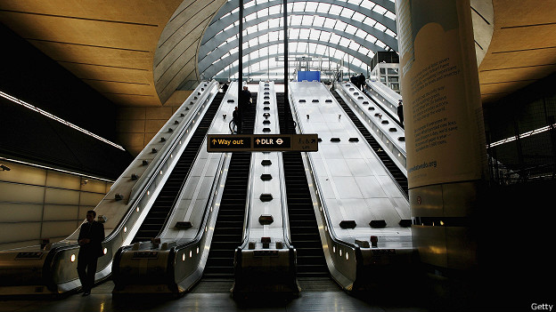 Estación de Canary Wharf, Londres
