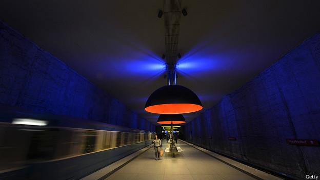 Estación Westfriedhof de Múnich