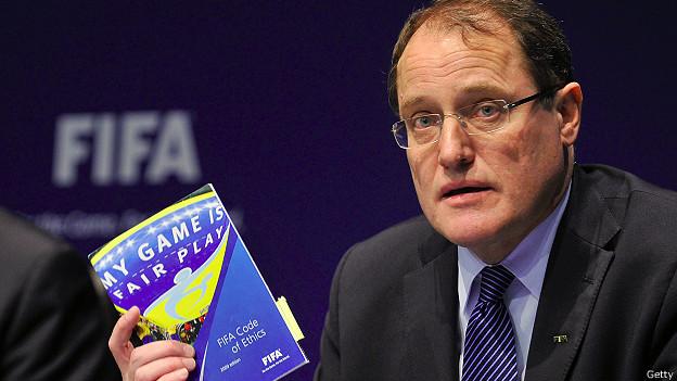 Claudio Sulser, presidente de la comisión disciplinaria de la FIFA