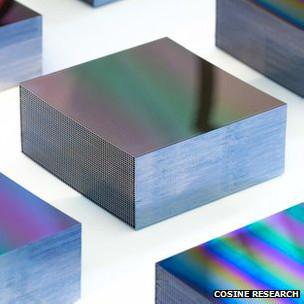 Пористая силиконовая оптика