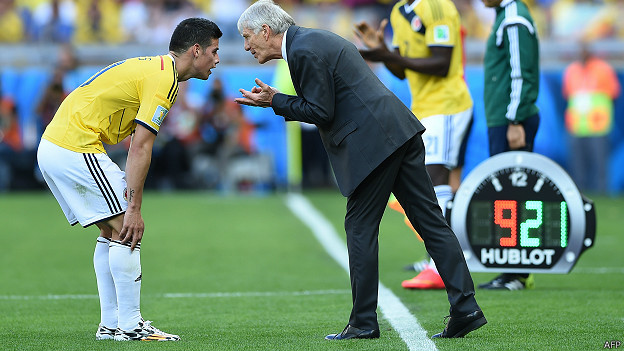 James Rodríguez, Néstor Pékerman