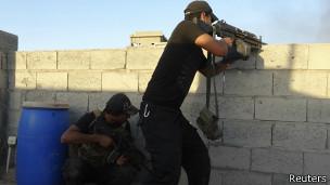 Fuerzas de seguridad de Irak