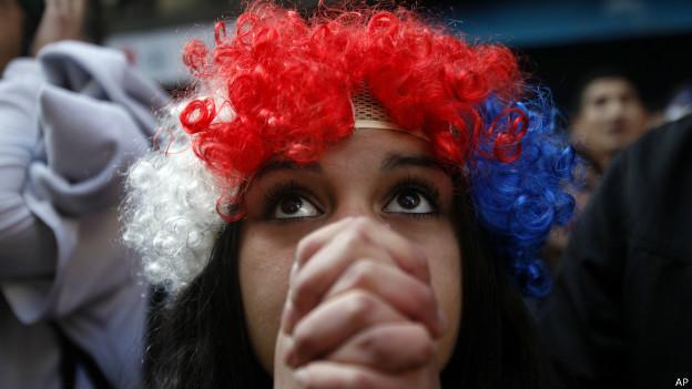 Hincha de la selección de Chile